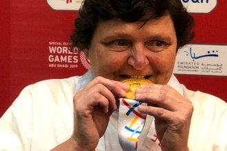 ¡Grande, Tati! En simples, consiguió la primera de oro para el medallero argentino en el mundial