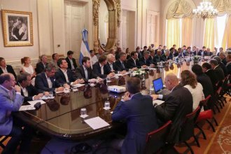Macri pidió a Bordet que Entre Ríos respalde un proyecto de ley para atraer inversiones forestales