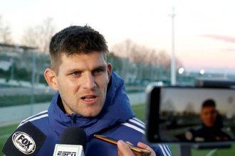 """El entrerriano """"está feliz"""" con ser parte de la selección que tiene a Messi"""