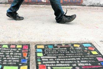 """Colocarán una de las """"Baldosas x la Memoria"""" en una ciudad entrerriana"""
