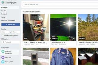 Estafaba por Facebook en todo Uruguay, desde la ciudad vecina a Colón