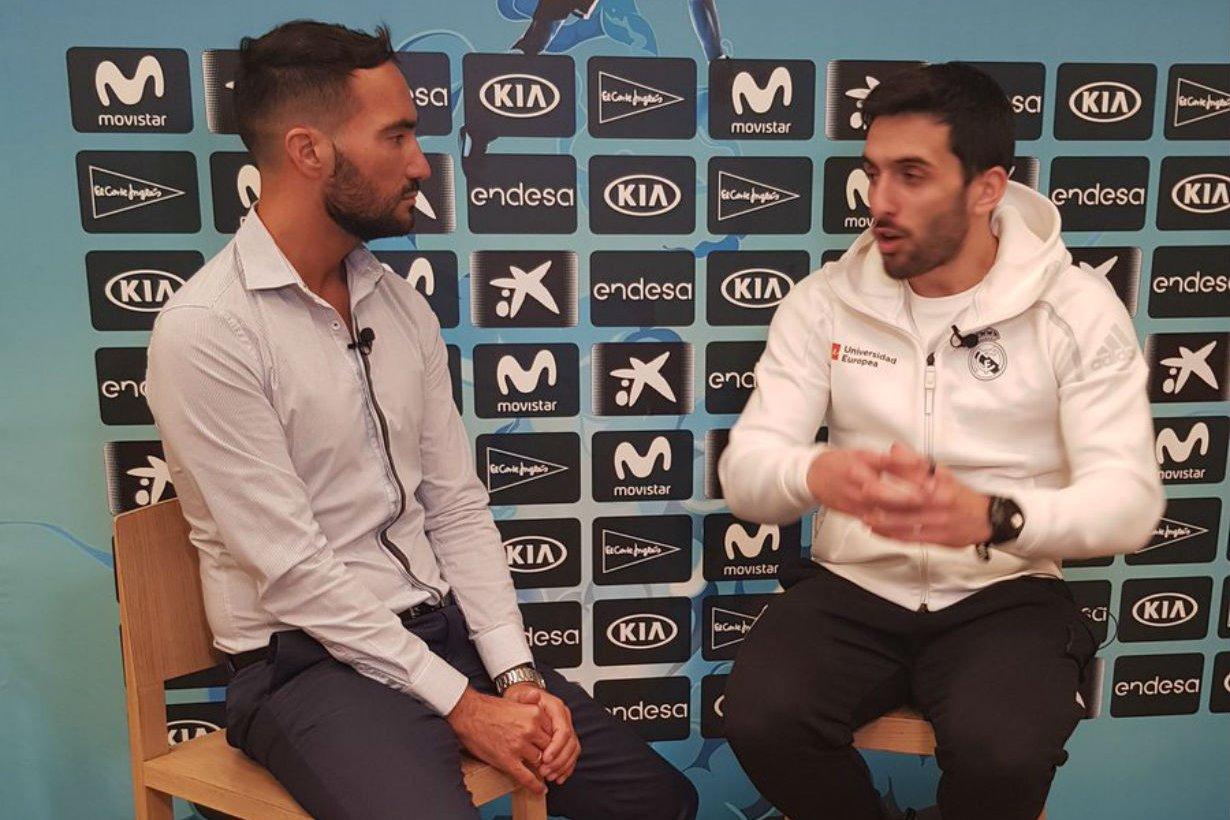 Así entrevistó a Campazzo, en Copa del Rey.