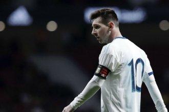 """Messi, sin rodeos: """"Quiero ganar algo con la Selección. Voy a jugar todas las cosas importantes"""""""