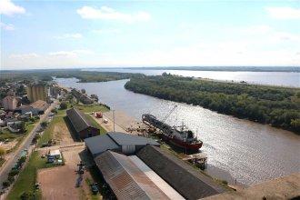 Estiman que este año los puertos entrerrianos pueden llegar a exportar 750.000 toneladas