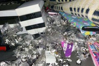 Otro golpe al contrabando: incautan bijouterie por más de un millón de pesos