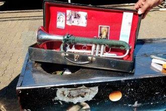 Malvinas: la historia del entrerriano al que un soldado escocés le devolvió su trompeta