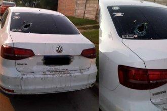 Atacaron el auto de un intendente entrerriano durante una recorrida de campaña