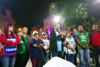 La marcha nacional convocada por la CGT también se sintió en Entre Ríos