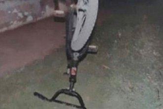 Buscan a un motociclista que huyó tras chocar a un niño que andaba en bicicleta