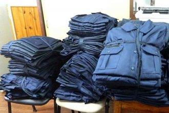 Delincuente de Paraná tenía uniformes de la policía en su casa