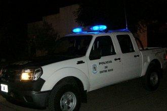 Robo frustrado terminó con daños a móviles y personal policial, tras un violento enfrentamiento