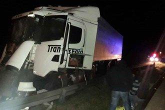 Precaución: Choque de camiones afectó el tránsito en zona de Ibicuy