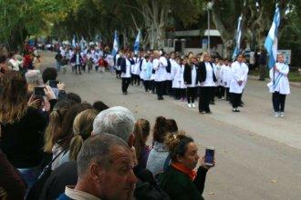 Antes de entrar en veda, Colón celebró su cumpleaños con un acto y un desfile