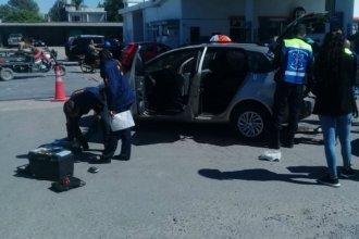 Un intento de estafa que terminó con una persecución, dos detenidos y dos heridos