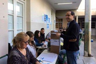 """La Madrid votó temprano y se fue a """"recorrer el departamento"""""""