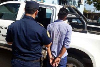 Una mujer activó el botón antipánico y un hombre terminó preso