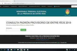 La explicación oficial: ¿Qué pasó con el sitio que mostraba el padrón electoral online?