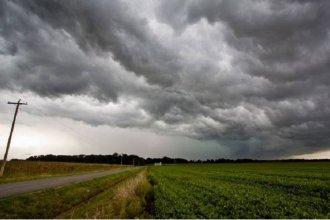 Emitieron alerta meteorológico para Entre Ríos