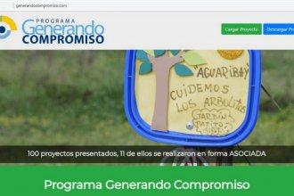 El programa Generando Compromiso ya tiene en línea su página web