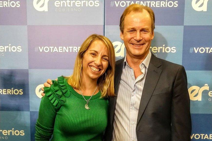 Laura Stratta y Gustavo Bordet, ganadores.