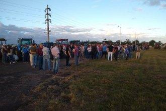 """Productores citrícolas de Chajarí realizaron el segundo tractorazo: """"Queremos una solución de fondo"""""""