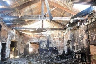 A un año del voraz incendio, comenzará la reconstrucción de la Casa de la Cultura
