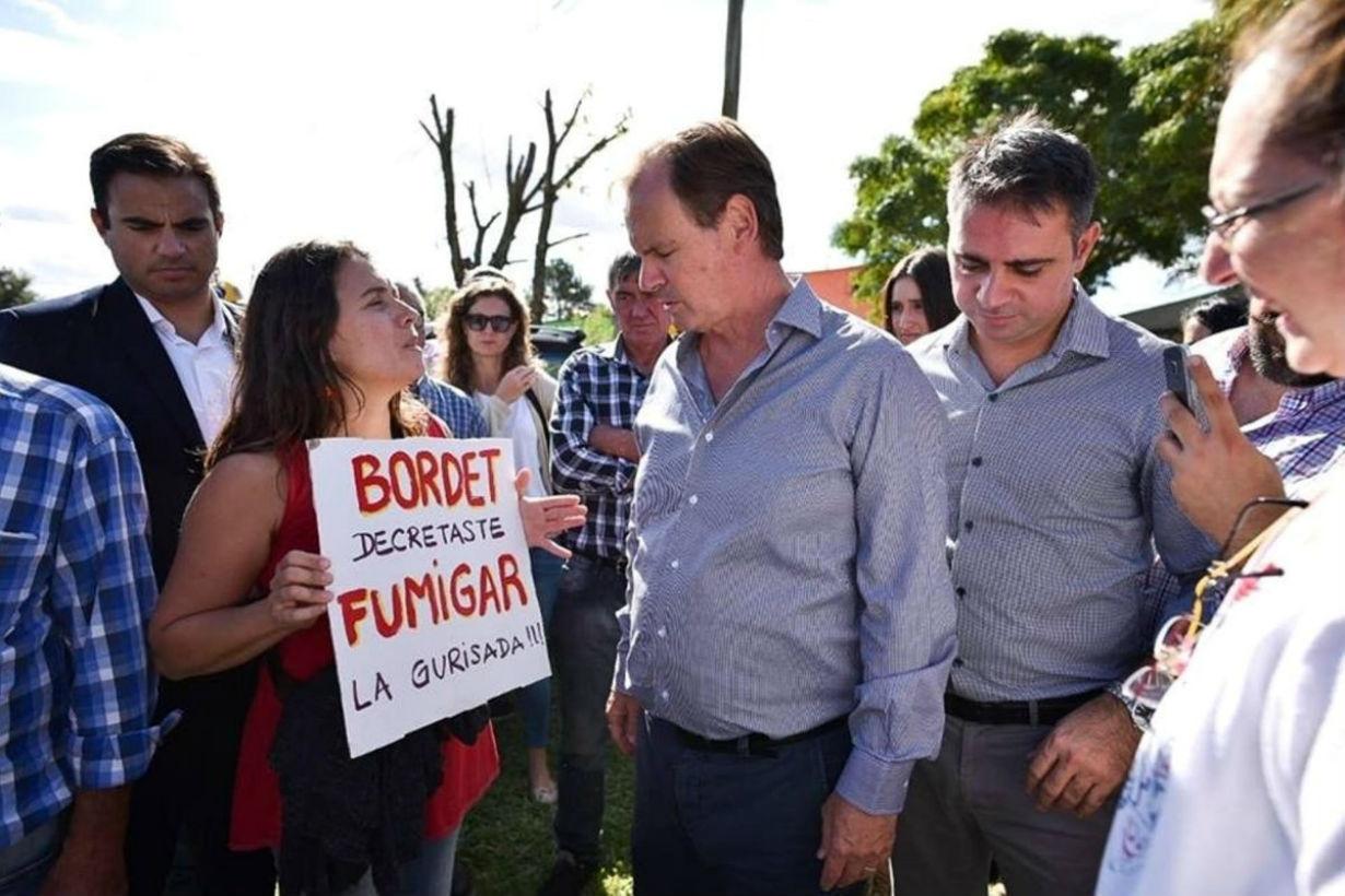 En marzo, Bordet oyó el reclamo en Pueblo Belgrano