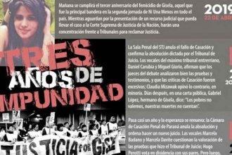 3 años sin Gisela y sin justicia: El calvario de la familia López, contado por un hermano de la joven asesinada