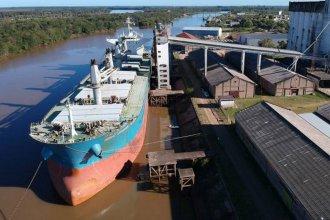 A la espera de un nuevo buque, el puerto de Concepción del Uruguay sigue activo