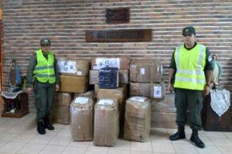 Millonario cargamento fue secuestrado ingresando de contrabando al país