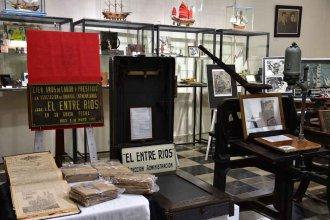 Una muestra en el museo refleja la historia de El Entre Ríos en su 136° aniversario