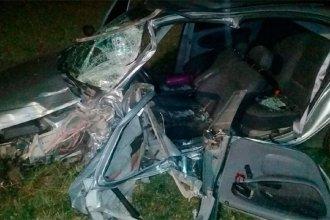 Seis personas resultaron heridas luego de un choque frontal en ruta 20