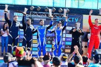 En Córdoba, Nadia Cutro alcanzó la cima del podio en el Rally Argentino