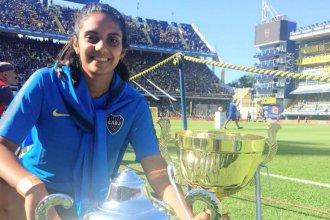 """Una entrerriana, otra vez campeona con Boca: """"Me pongo a pensar y es increíble estar acá"""""""