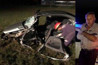 Video revela que el médico forense habría conducido en zigzag instantes previos al choque en Ruta 20