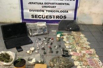 Allanamientos en Concepción del Uruguay: secuestraron droga, armas, dinero en efectivo y vehículos