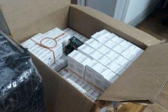 Incautaron cargamento millonario de cigarrillos y electrónica en la autovía