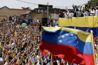 Desde distintas partes de Entre Ríos, venezolanos se unen para apoyar la Operación Libertad
