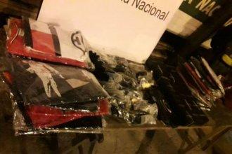 Otro golpe al contrabando: incautaron mercadería ilegal por 200 mil pesos