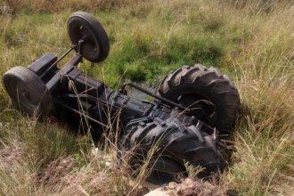 Falleció un amansador de caballos tras volcar a bordo de un tractor