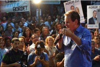 """Con una alusión a Néstor Kirchner, Bordet pidió trabajar """"para que el próximo presidente sea peronista"""""""
