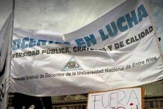 A falta de una oferta salarial acorde, docentes universitarios resolvieron nuevas medidas de lucha