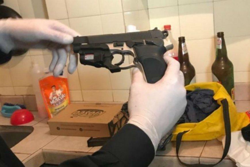 El arma que mató a Yadón, en casa de