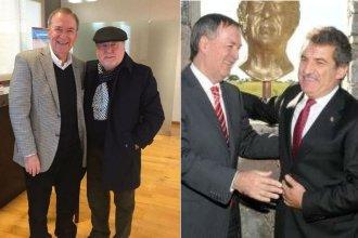 Busti y Urribarri, los exgobernadores que coincidieron a la hora de felicitar a Schiaretti