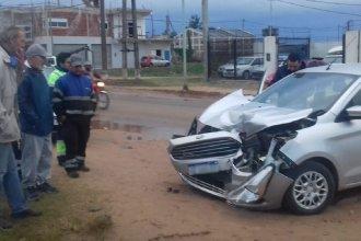 Concordia: un padre y sus hijas chocaron contra la formación del tren Belgrano Cargas