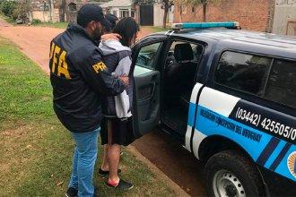 ¿Cuáles eran los roles de los integrantes de la banda narco que operaba en Paraná y Concordia?