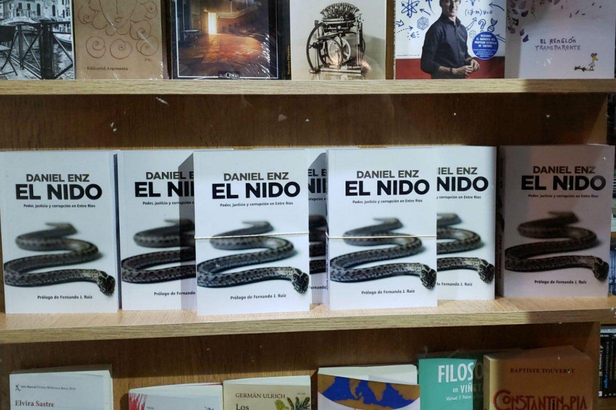 El libro de Enz, a la venta desde fines de abril.
