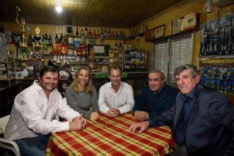 Bordet se sacó una foto en el rancho de Don Alejandro