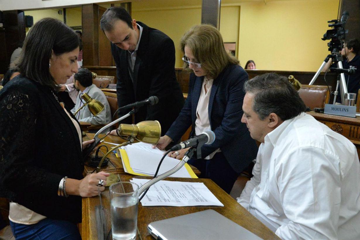 Concejales que firmaron el pedido de informe
