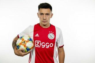 El Ajax de Holanda le dio la bienvenida al entrerriano Lisandro Martínez
